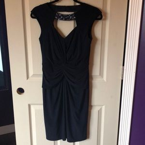 Dresses & Skirts - Formal navy dress.  Size 2.